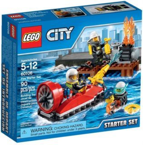 Stavebnice LEGO® City Hasiči – 60106 Startovací sada