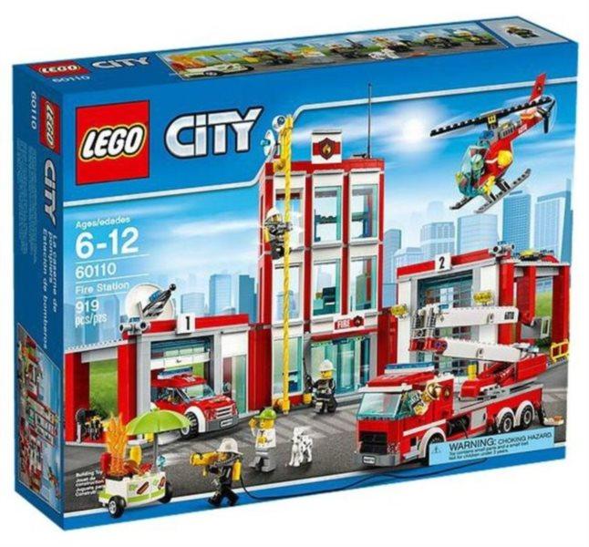 Stavebnice LEGO® City Hasiči – 60110 Hasičská stanice