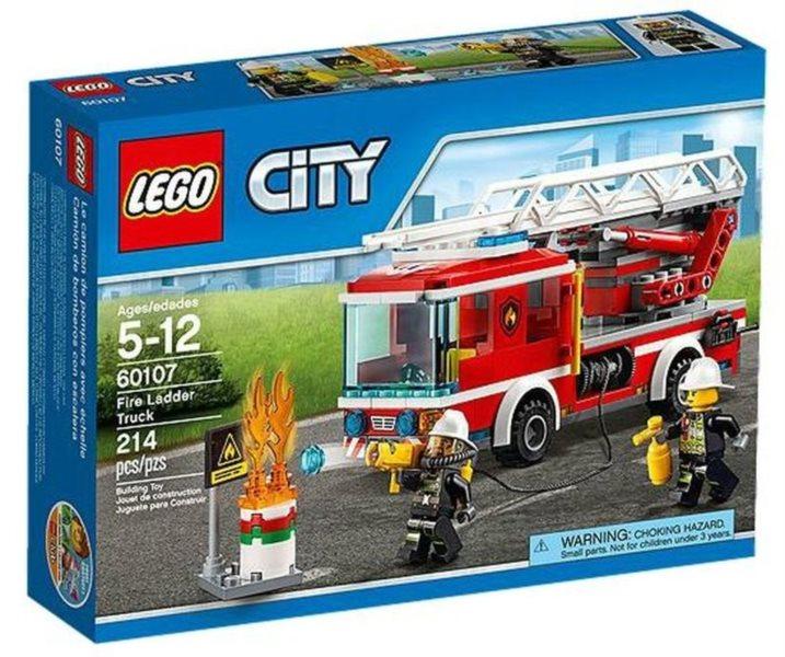 Stavebnice LEGO® City 60107 Hasičské auto s žebříkem