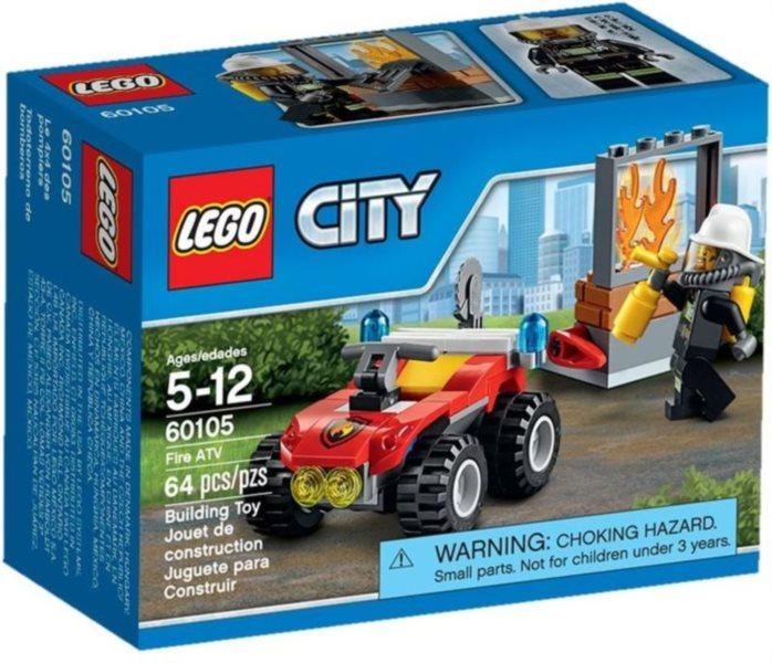 Stavebnice LEGO® City Hasiči – 60105 Hasičský terénní vůz