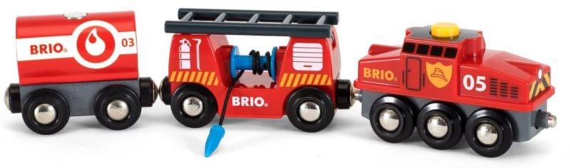 BRIO 33844 Hasičský záchranářský vlak