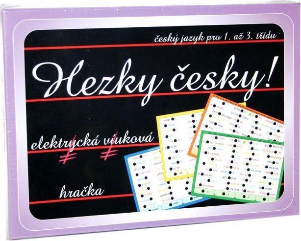 Elektronická kombinační hra pro děti - Hezky česky!