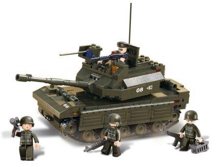 Stavebnice SLUBAN Hlavní tank
