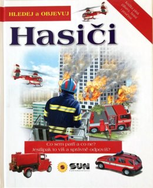 Kniha: Hledej a objevuj Hasiči, Nakladatelství SUN