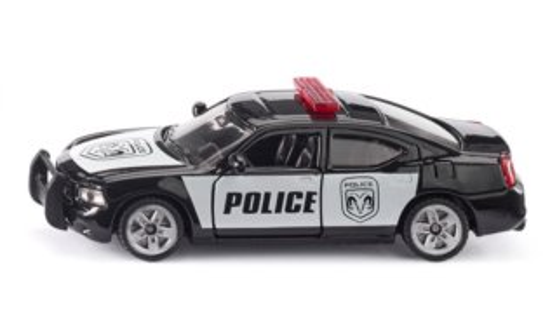 Hlídkový vůz US policie