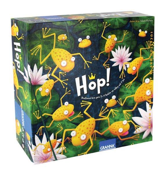 Desková hra GRANNA HOP!