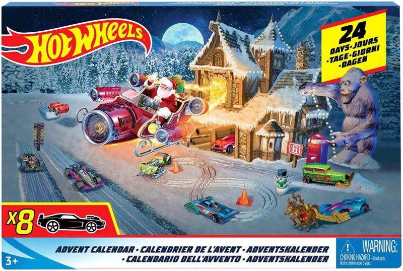 Hot Wheels Adventní kalendář