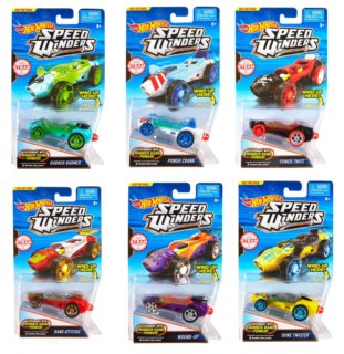 MATTEL Hot Wheels Autíčko Speed Winders 1 ks