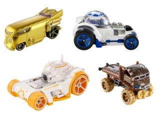 MATTEL Hot Wheels autíčko Star Wars (mix)
