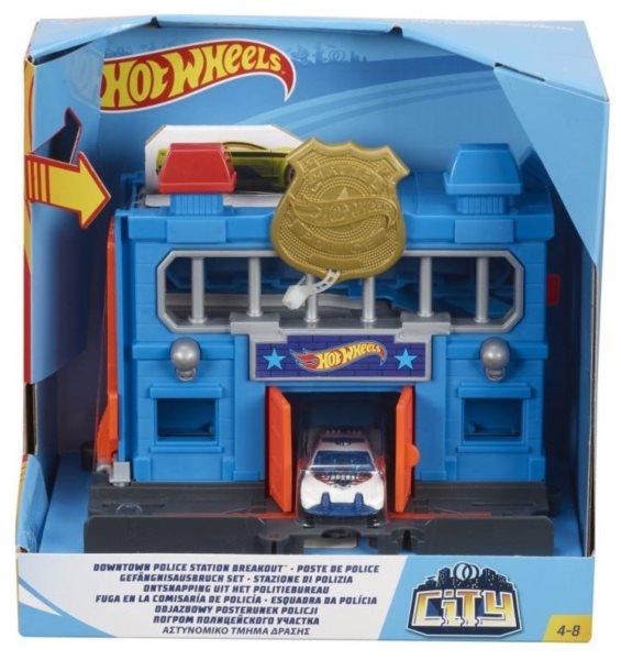 Hot Wheels City Policejní stanice