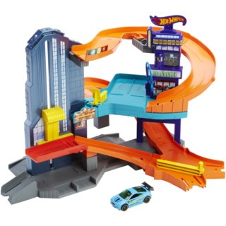 MATTEL Hot Wheels Dráha Speedtropolis