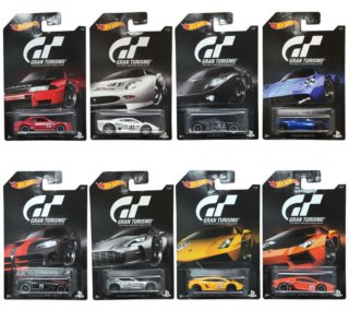 MATTEL Hot Wheels Grand Turismo (mix)