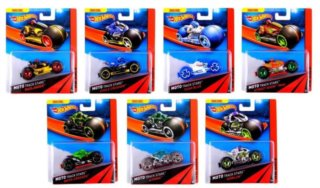 MATTEL Hot Wheels Moto Track Stars (mix)