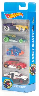 MATTEL Hot Wheels Street Beasts 5ks