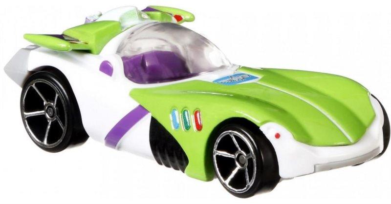 HOT WHEELS Toy Story Tematické auto : Buzz Rakeťák