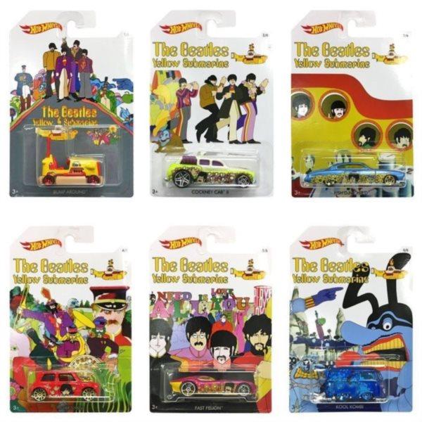 MATTEL Hot Wheels The Beatles autíčko (mix)