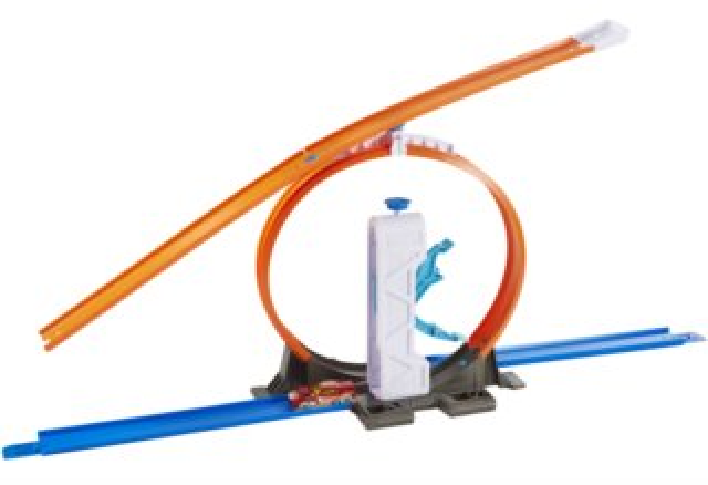 MATTEL Hot Wheels Track builder s doplňky a dráhou - Loop Launcher