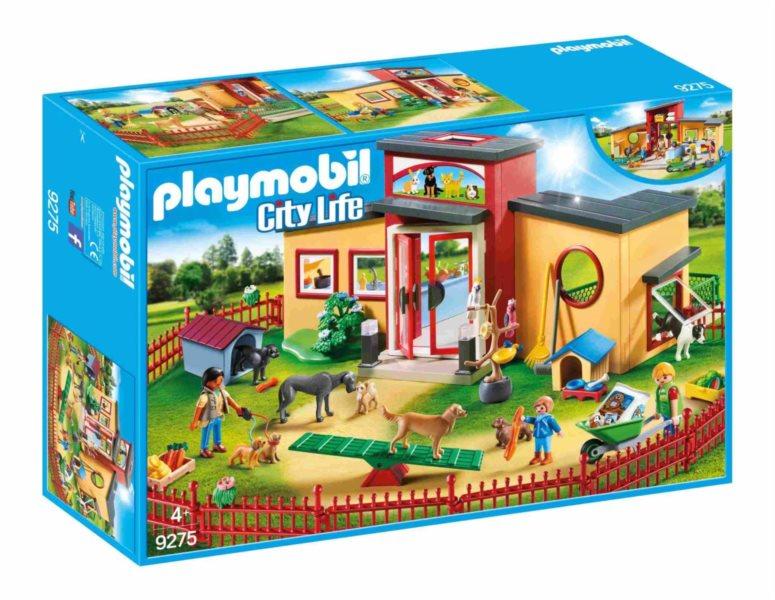 PLAYMOBIL® City Life 9275 Hotel pro zvířátka Tlapka