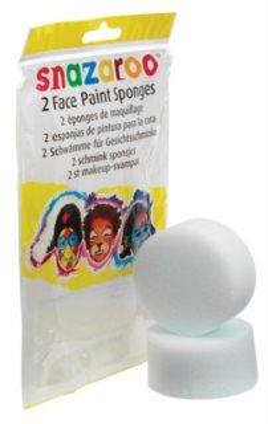 SNAZAROO Houbičky na obličejové barvy 2 ks