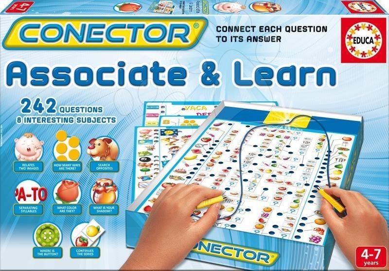 EDUCA Interaktivní hra pro děti - Conector Asociace a učení