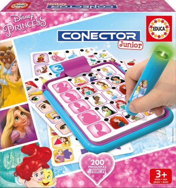 EDUCA Hra Conector Junior Disney princezny
