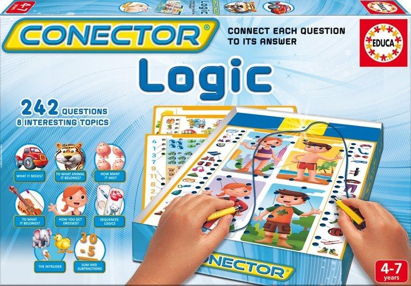 EDUCA Interaktivní hra pro děti - Conector Logické myšlení