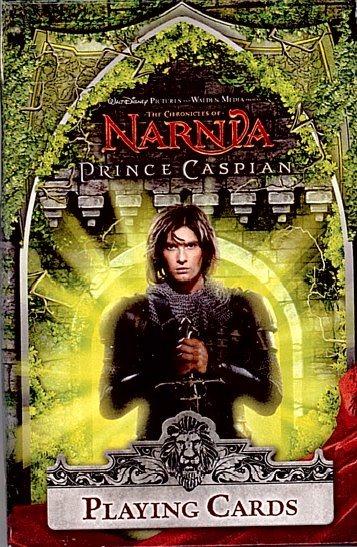 Hrací karty: Letopisy Narnie Princ Kaspian PIATNIK 157110