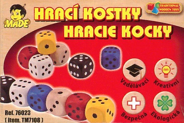 Hrací kostky (6ks)