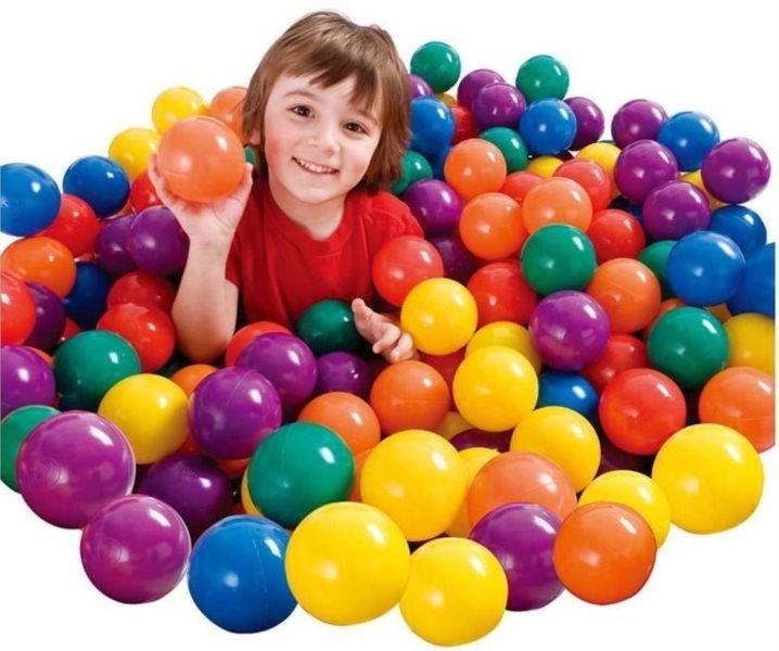 INTEX Hrací míčky - 100 kusů