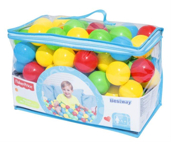 BESTWAY Hrací míčky do bazénu 100ks (průměr 6,5cm)