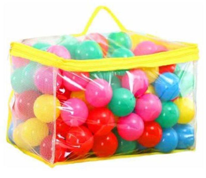 Hrací míčky do bazénu 100ks (průměr 6cm)