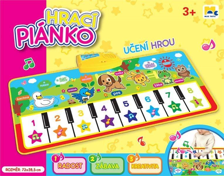 Hrací piáno se zvířátky