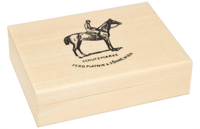 Dřevěná kazeta na karty - světlá PIATNIK 2805