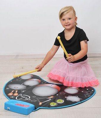 MAC TOYS: Hrací podložka bubny