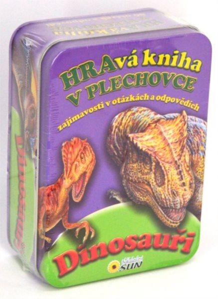 Hravá kniha v plechovce: Dinosauři, Nakladatelství SUN