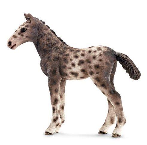 SCHLEICH 13760 Hříbě koně Knabstrupského