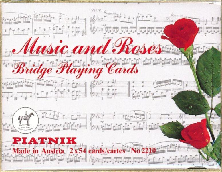 Hrací karty Žolík (Kanasta) - Hudba a růže, PIATNIK