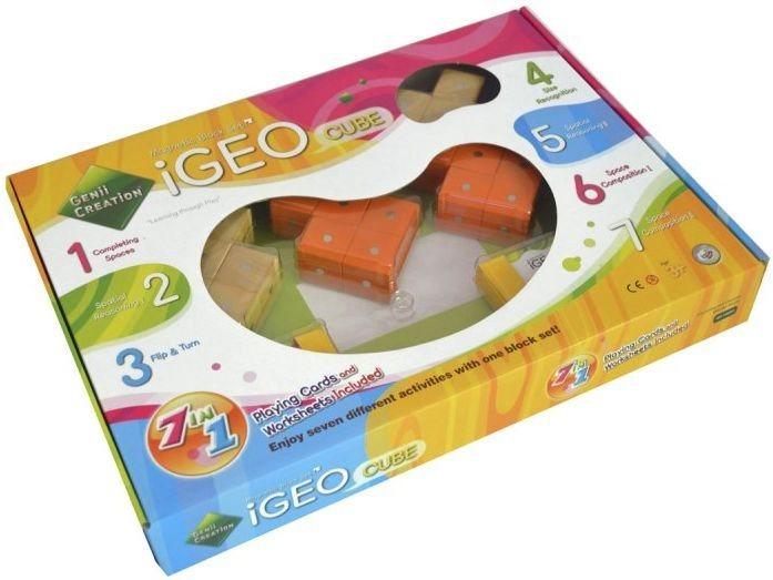 Magnetická stavebnice Genii Creation - iGEO-Cube