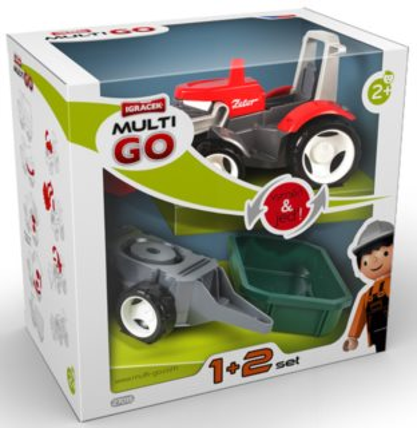 Igráček MultiGO 1+2 Traktor