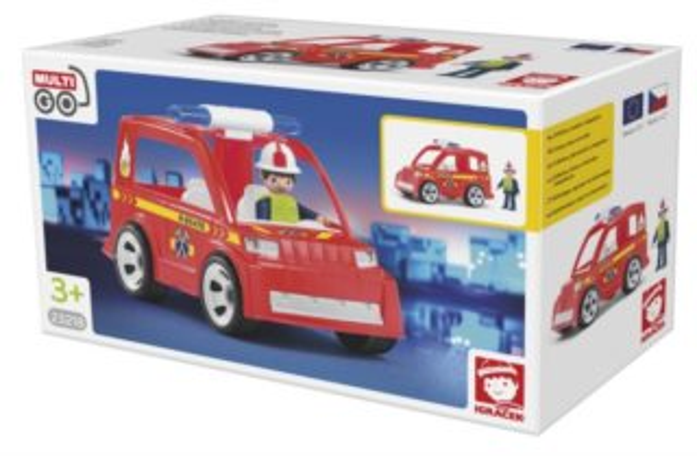 Igráček MultiGO Hasičské auto s hasičem