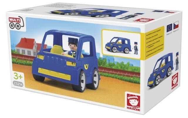 Igráček MultiGO Poštovní auto s pošťákem