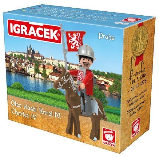 Igráček Otec vlasti Karel IV. (Praha)