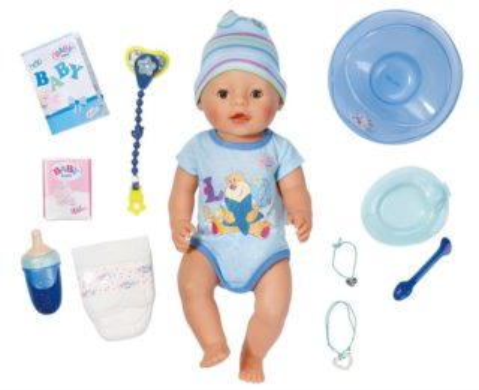BABY BORN: Interaktivní BABY born: chlapeček
