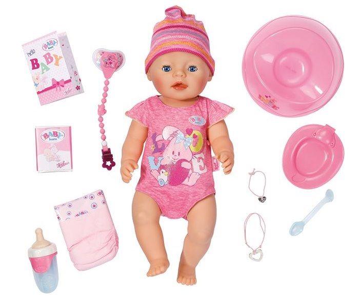 BABY BORN: Interaktivní BABY born: holčička