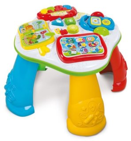BABY CLEMENTONI, Interaktivní stoleček