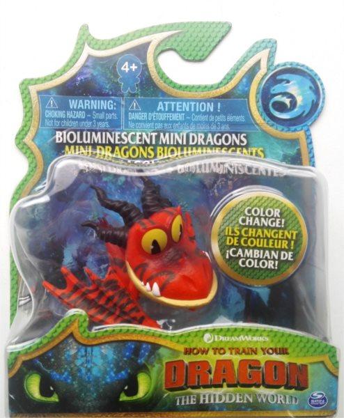 SPIN MASTER Jak vycvičit draka 3: Tesák měnící barvu