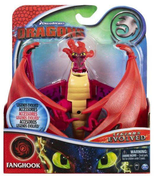 SPIN MASTER Jak vycvičit draka: Legends Evolved Tesák s příslušenstvím