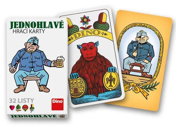 Jednohlavé mariášové karty Švejk