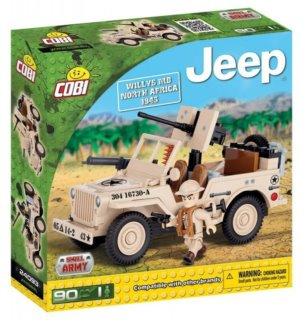 COBI Jeep Willys MB