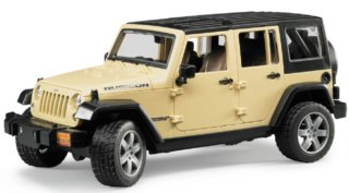BRUDER Jeep Wrangler Unlimited Rubicon 1:16